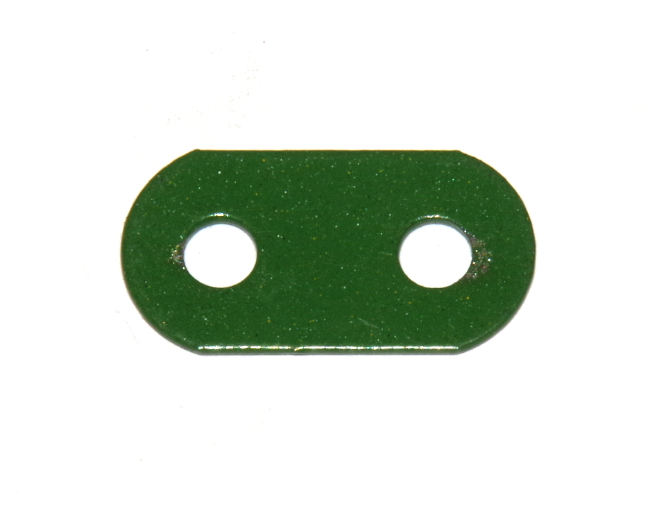 6b Standard Strip 2 Hole Green