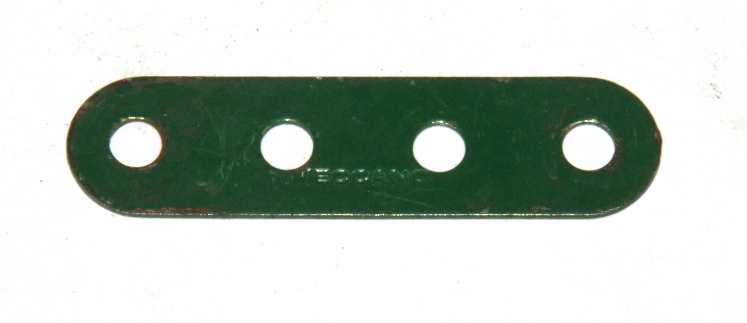 6n Standard Strip 4 Hole Dark Green Original