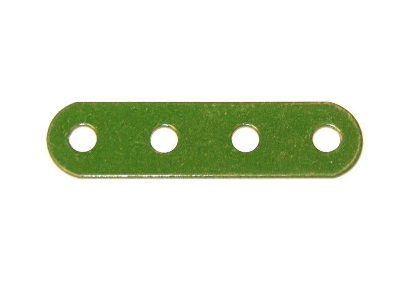 6n Standard Strip 4 Hole Green