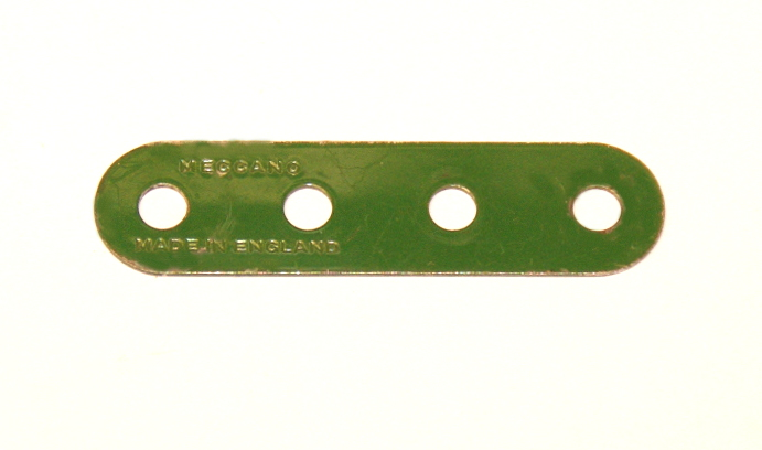 6n Standard Strip 4 Hole Mid Green Original