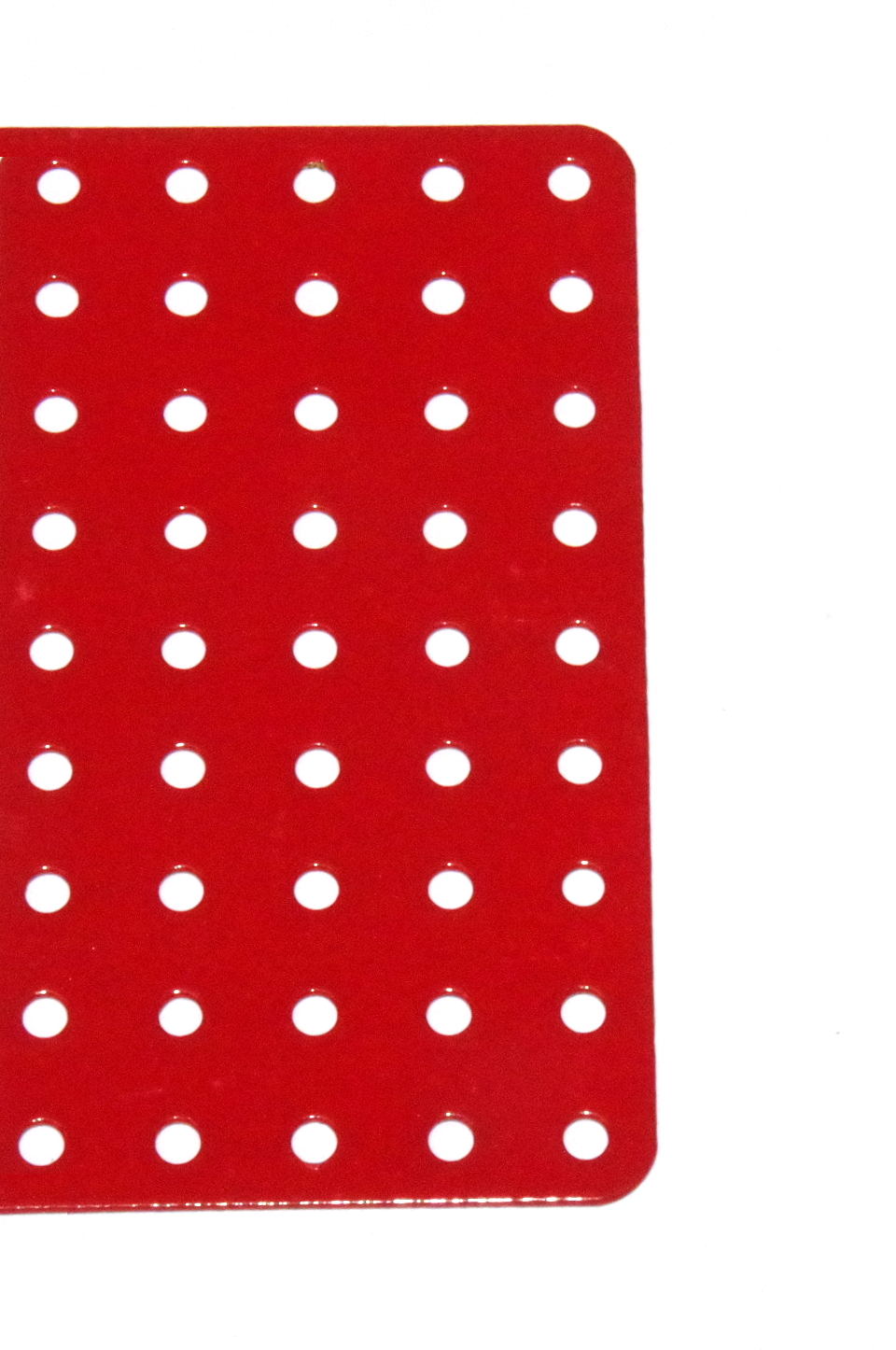 71c Flat Plate 9x19 Hole Red