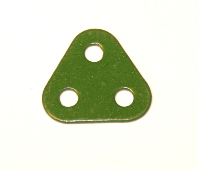 77 Triangular Plate 2x2x2 Green