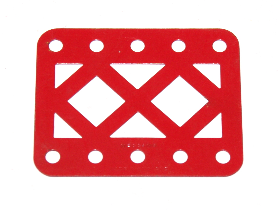 98DC Double Braced Girder 5 Hole Red Original