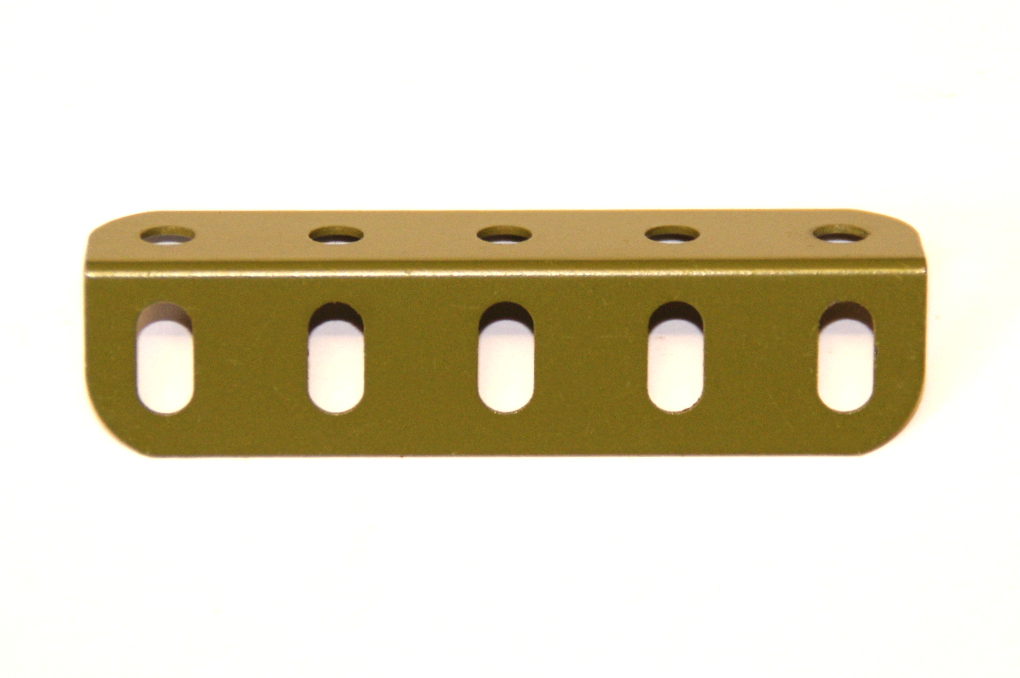 9d Angle Girder 5 Hole Army Green Original