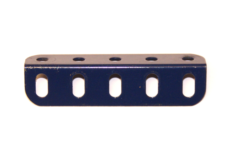 9d Angle Girder 5 Hole Dark Blue