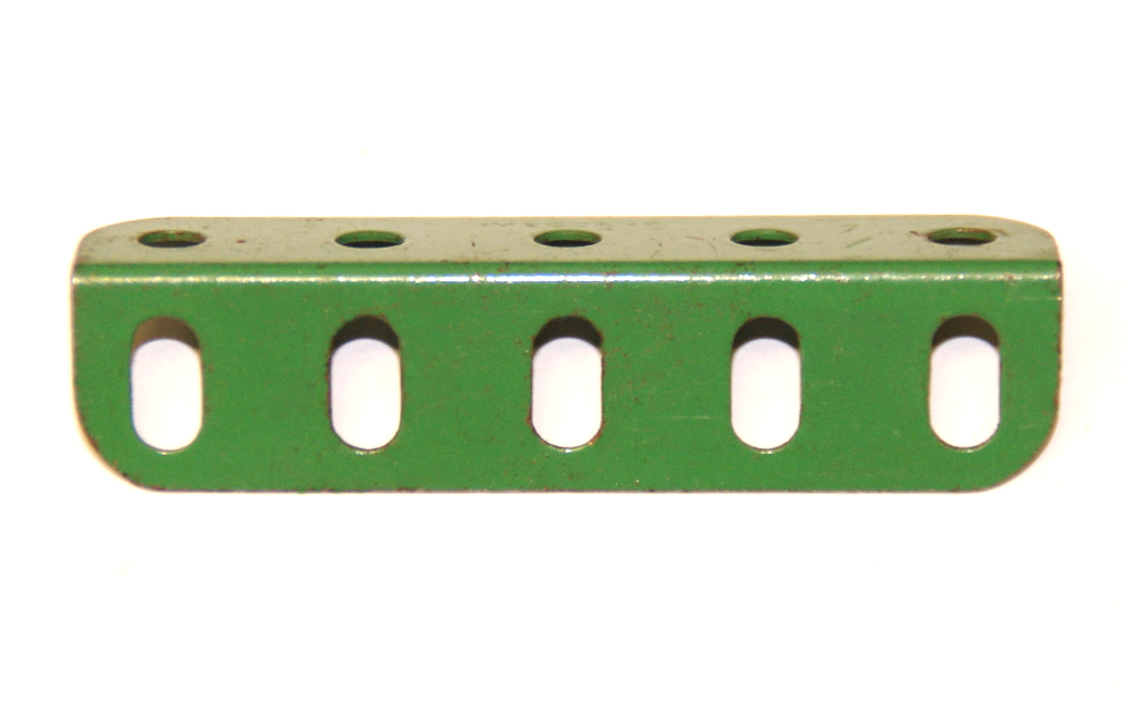 9d Angle Girder 5 Hole Light Green Original