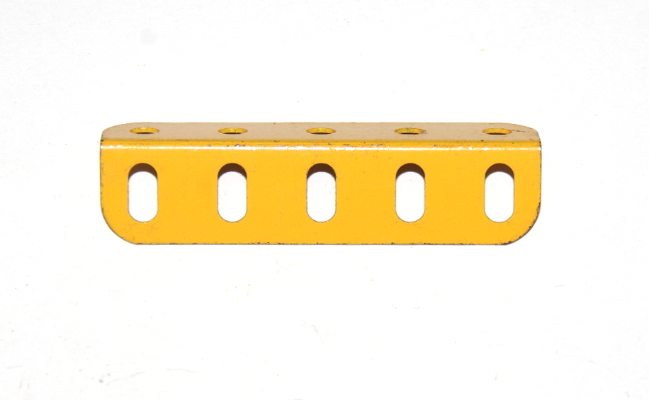 9d Angle Girder 5 Hole UK Yellow Original