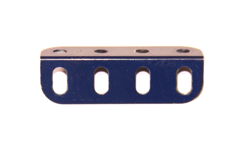 9e Angle Girder 4 Hole Dark Blue Original