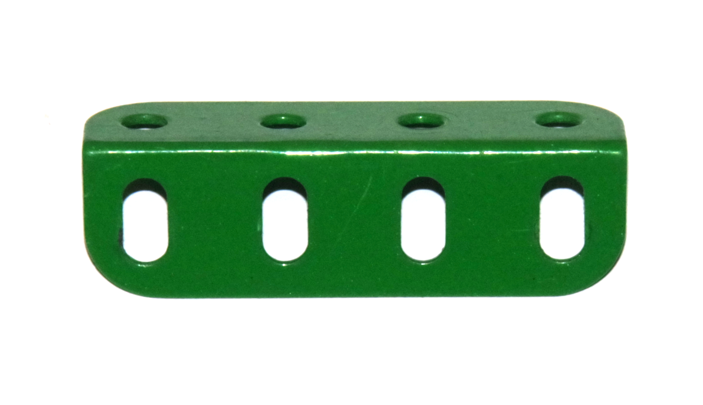 9e Angle Girder 4 Hole Light Green