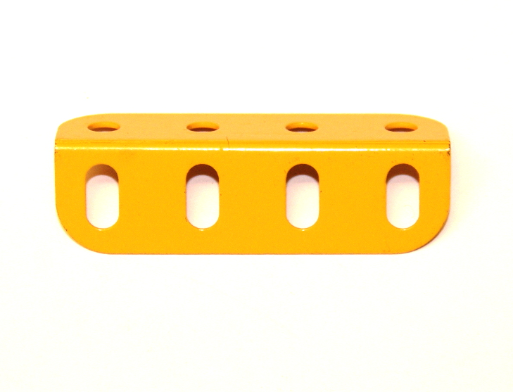 9e Angle Girder 4 Hole UK Yellow Original
