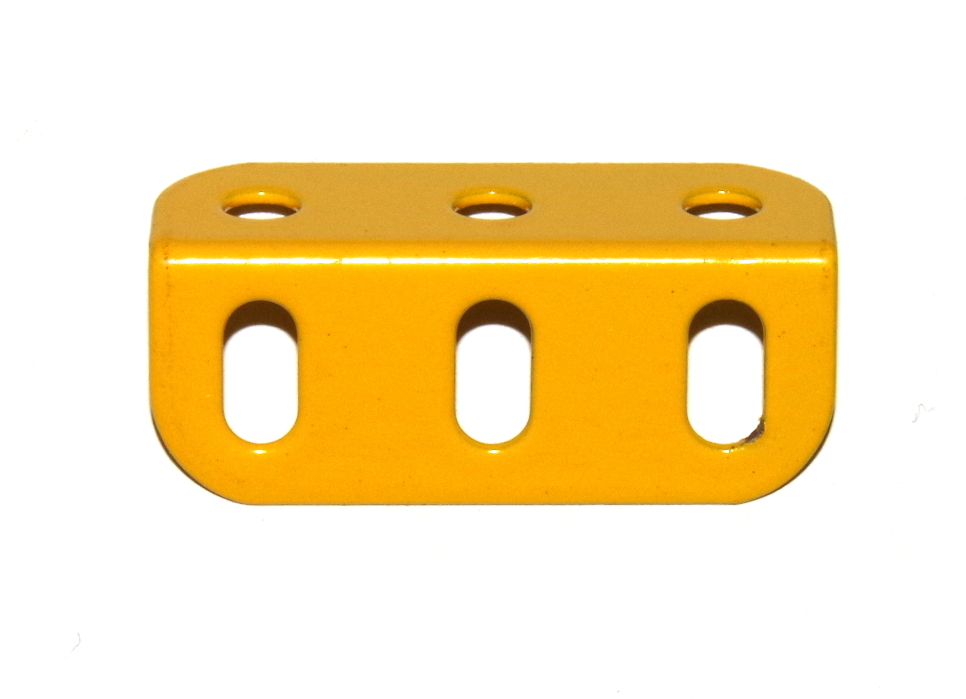 9f Angle Girder 3 Hole French Yellow Original