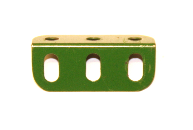 9f Angle Girder 3 Hole Mid Green Original