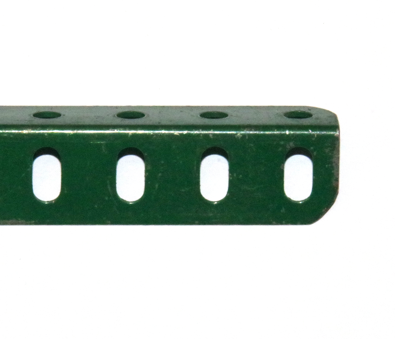 8 Angle Girder 25 Hole Dark Green Original