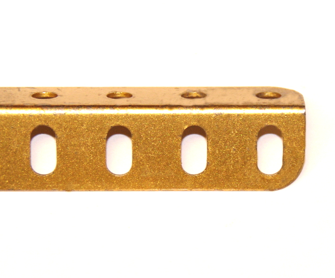 7 Angle Girder 49 Hole Gold Original