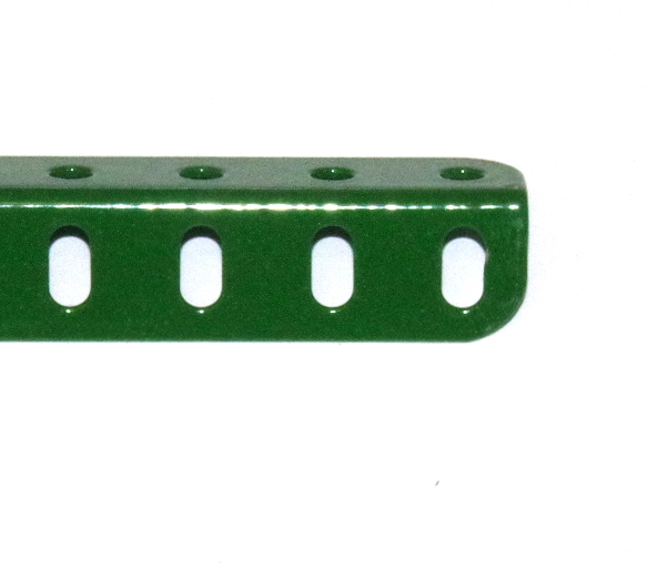 9c Angle Girder 6 Hole Green