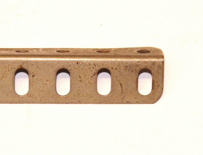 9b Angle Girder 7 Hole Nickel Original