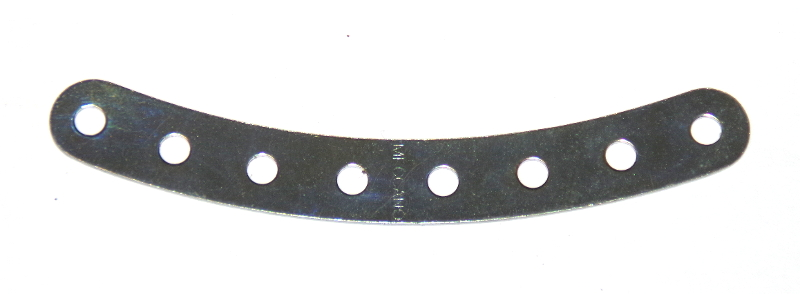 B205 Curved Strip 8 Hole Zinc Original