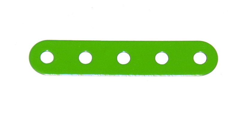B487 Flexible Strip 5 Hole Fluorescent Green Original