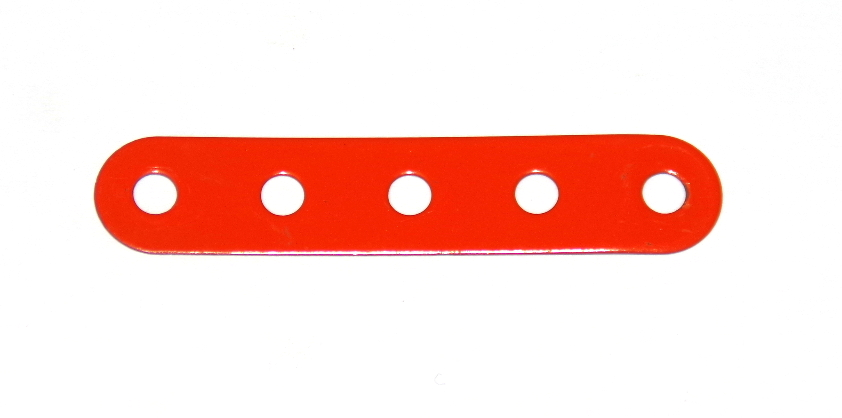 B487 Flexible Strip 5 Hole Orange Original