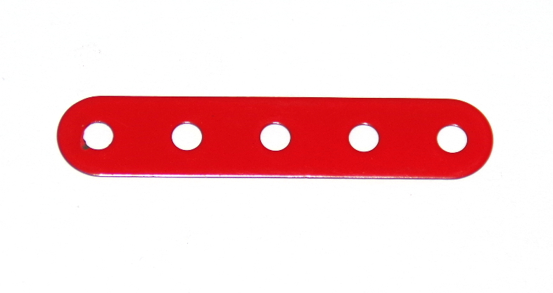 B487 Flexible Strip 5 Hole Red Original
