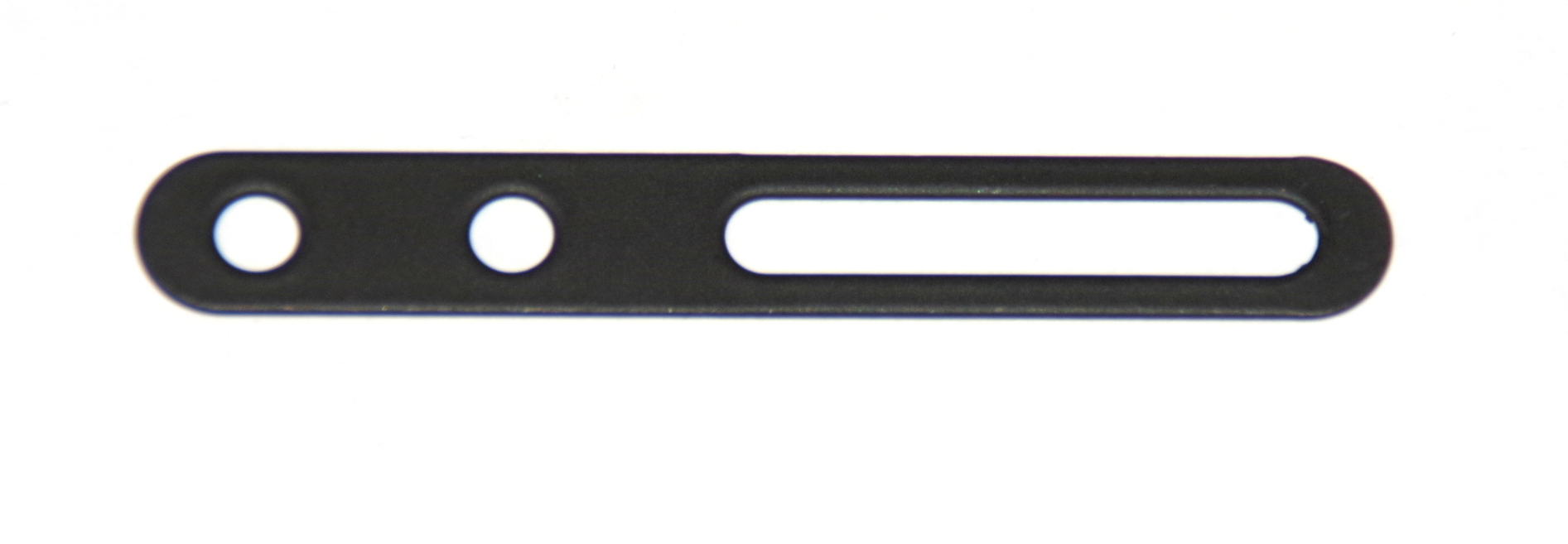 B698 Narrow Slotted Strip 2½'' Black Original