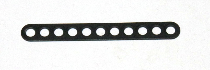 C772 Narrow Connector Strip 11 Hole 2 7/8'' Black Original