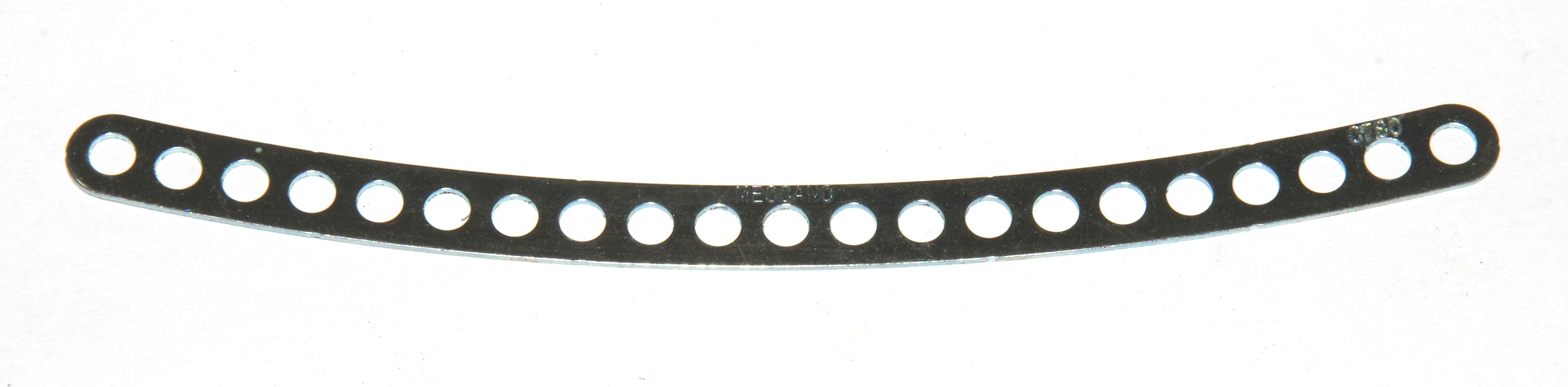 C780 Narrow Curved Strip 21 Hole Zinc Original
