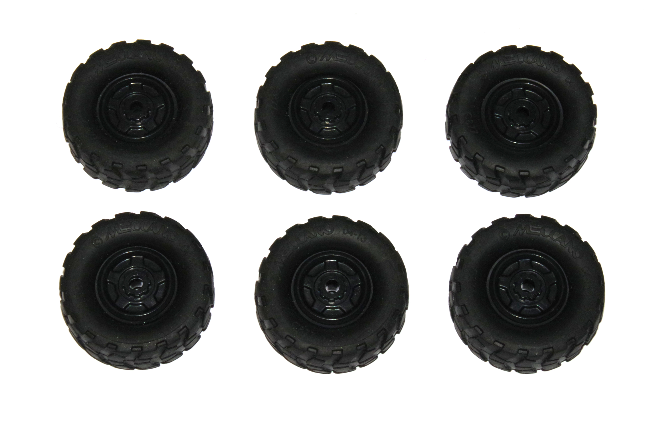 C877 Tyre 44mm + Centre Black Original x6